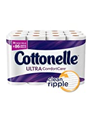Cottonelle Ultra ComfortCare Family Roll Toilet Paper, Bath T...