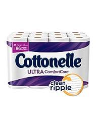 Cottonelle Ultra ComfortCare Toilet Paper, Bath Tissue, 36 Fa...