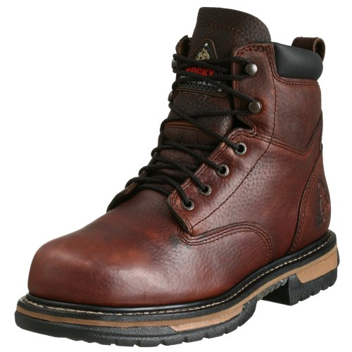 Rocky Boot Brown Bridle Men's Work Six Inch Iron Clad rrq8w