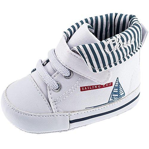 Chicco , Jungen Sneaker, weiß - Bianco Vela - Größe: 17 EU