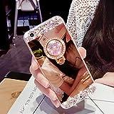 Best Luxury Iphone Cases - iPhone 8 Case,iPhone 7 Case,WATACHE Mirror Makeup Luxury Review