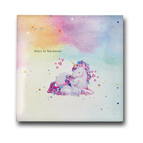 Fotos de bebé libro & Diario 2018regalo para madres nuevas: magical-handmade memoria álbum.