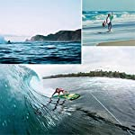 LXDDP-Stand-up-Water-Board-Racing-SUP-Gonfiabile-tuttintorno-Stand-up-Paddle-Board-con-Paddle-Adj-Pompa-Zaino-guinzaglio-Kit-di-Riparazione