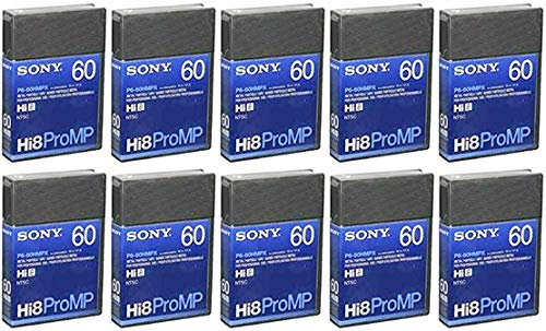 Sony P6-60 HMPX 60 Minute Hi-8 Professional Metal Evaporated, Metal Particle Videocassette by Video Cassette