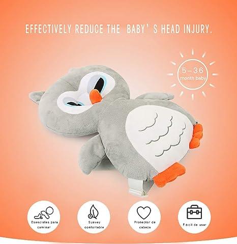 Reposacabezas de Bebe,Protección para Cabeza del Bebé Cojín Protector para Niños Reposacabezas Almohada Resistencia a la Caída