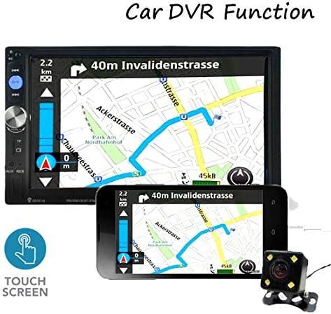 オートラジオ2 Din 7023B車のラジオ7インチのタッチスクリーンダッシュカーデジタルMP5マルチメディアプレーヤーのBluetooth USB SDの背面カメラ