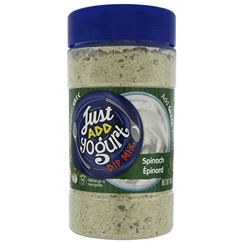 Altius Spinach Dip Mix With a Mixture of Herbs and Spices With Sour Cream, Regular or Non-Greek Yogurt, 4.94 oz