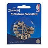 Spalding Inflation Needles (10 Pack), Silver, One Size