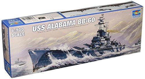 Trumpeter 1/700 USS Alabama BB60 Battleship Model Kit