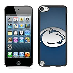 Ncaa Big Ten Conference Football Penn State Nittany Lions 6 Black Individual Custom iPod Touch 5 Case