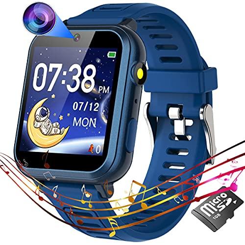 Reloj Smartwatch para chicos de 4 a 12 años - Azul