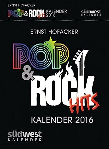 Pop & Rock Hits Kalender 2016 Textabreißkalender