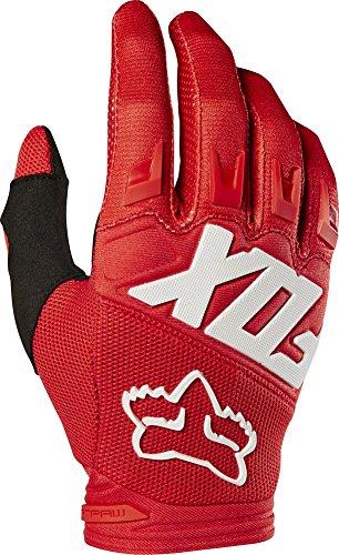 (2019 Fox Racing Dirtpaw Race Gloves-Red-XL)