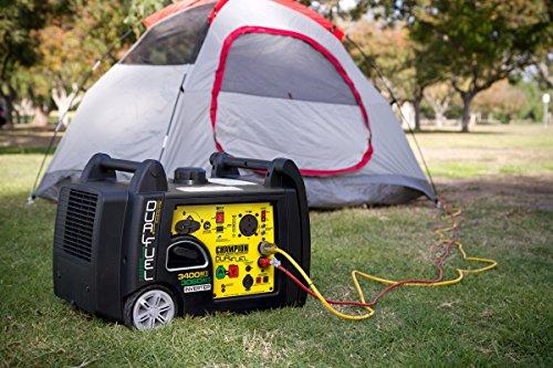 Champion 3400 Watt combined Fuel RV Generators portable Power