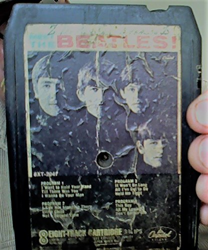 The Beatles - Meet The Beatles! Vintage Stereo 8-Track Tape - Zortam Music