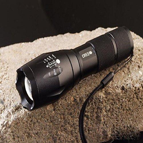 2000 Lumen Cree XML T6 Zoomable LED Linterna Enfoque Zoom Luz Antorcha 18650 /aaa