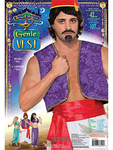 Forum Novelties 42-Inch Purple Genie Vest Costume