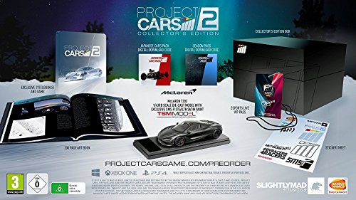 Project CARS 2 - Collector's Edition (Xbox One) by By Bandai Namco Partners Uk Ltd