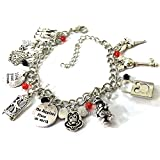 disney up merchandise - BlingSoul Disney Cosplay Costume Jewelry Collection (Mickey Mouse Charm Bracelet)