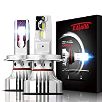 KATANA H4 LED Headlight Bulbs CREE Chips 6500K Ultra Upgraded Cool White Replacement Kit
