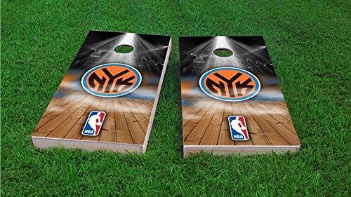 New York Knicks Cornhole Set, 1x4 Frame (25% Lighter) by Tailgate Pro's