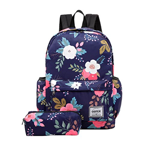 ODTEX Backpack Water Resistant School Bookbag for College Travel Laptop Backpack Fits for 15 inch Notebook and Tablet by ODTEX