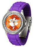 New Linkswalker Ladies Clemson Tigers Sparkle Watch