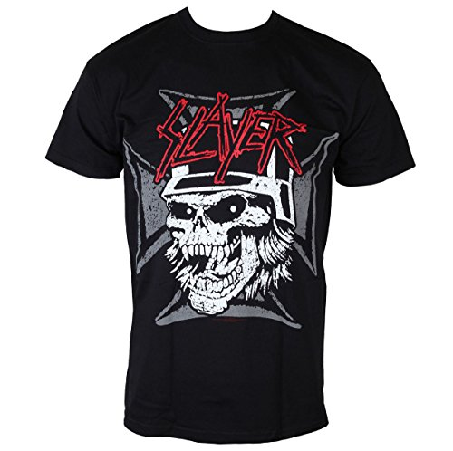 T-Shirt Männer Slayer - Graphic Skull - Black - ROCK OFF - SLAYTEE33MB XL
