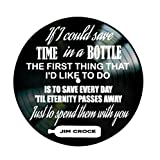 Time in a Bottle song lyrics by Jim Croce on a Vinyl Record Album Wall Decor