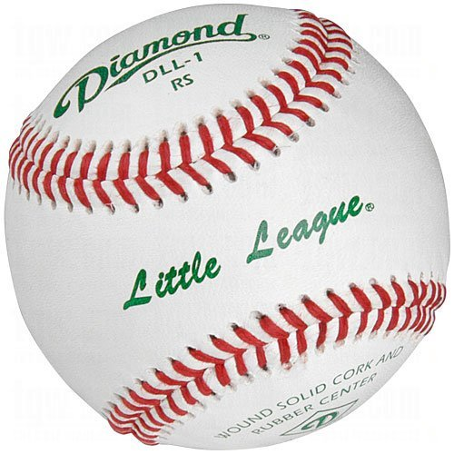Diamond Dll-1 Little League Leather Baseballs 12 Ball Pack - Leather Baseball Diamond