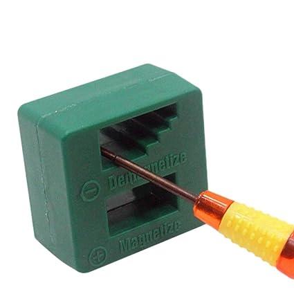 Bescita Magnetizer - Destornillador magnético para herramientas de ...