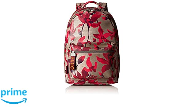 Oilily - Jolly Backpack Mvz, Mochilas Mujer, Rot (Dark Red), 13x36x22 cm (B x H T): Amazon.es: Zapatos y complementos
