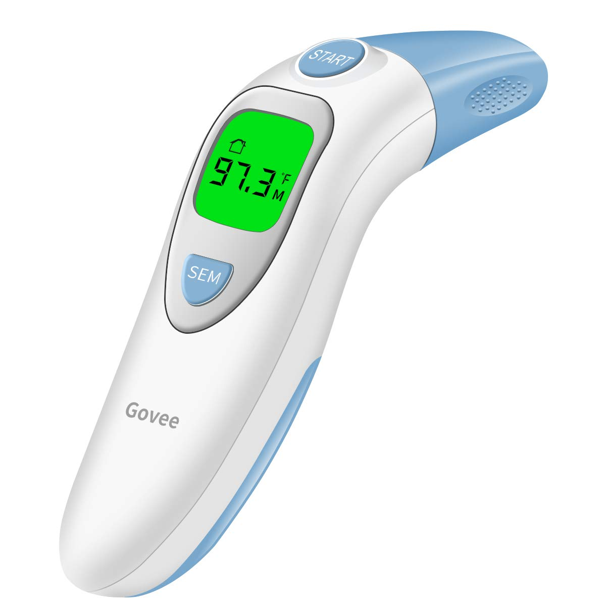 Govee Forehead Ear Thermometer Digital Infrared Head Medical Thermometer for Baby Kids Adults Fever by MINGER, 5-in-1 Accurate Instant Read
