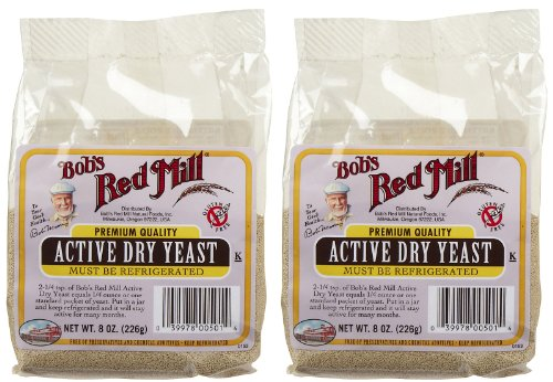 Bob's Red Mill Active Dry Yeast - 8 oz - 2 pk by Bob's Red Mill