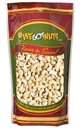Cashews, Whole, Raw, Bulk Nuts - We Got Nuts (5 LBS.)