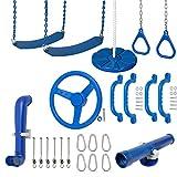 Swing Set Stuff Inc. Ultimate Kit (Blue) and SSS Logo Sticker