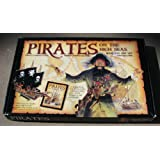Pirates on the high seas book and ship set