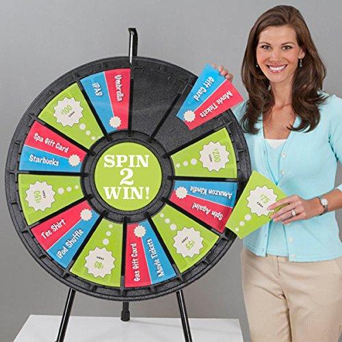 (12-24 Slot Tabletop Prize Wheel (31 Inch)