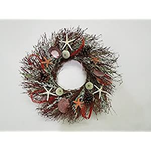 51OIW3ottPL._SS300_ 70+ Beach Christmas Wreaths and Nautical Wreaths