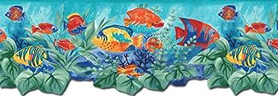 Aquarium Wallpaper Border BH88023B