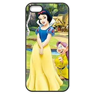 Snow White Iphone 5 5s Black Phone Case Cover LSK2494