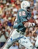 Autographed Mercury Morris 8x10 Miami Dolphins Photo