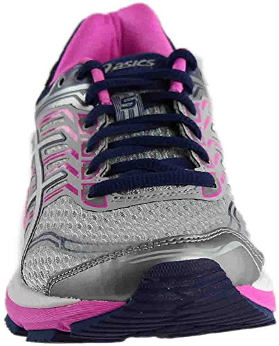 Pictures of ASICS Women's Gt-2000 5 Running Shoe T759N.9601 Pink Glow/White/Dark Purple 4