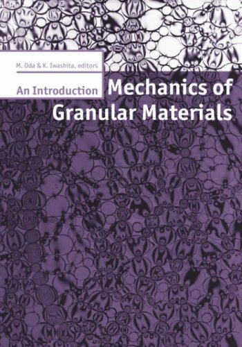Mechanics Granular Materials Introdu
