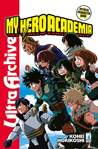 (My Hero Academia. Official character book ultra)