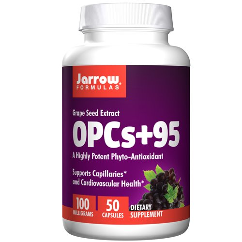 (OPCs + 95, 100 MG, 50 Caps by Jarrow Formulas (Pack of 3))