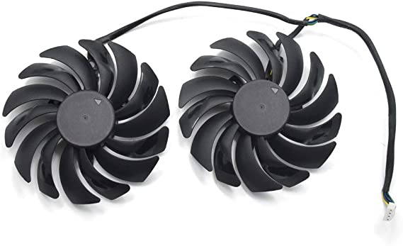 95MM Video Card Fans Replacement for MSI GTX 1070