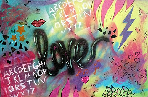 ''Electric Love'' - Original Mixed Media Artwork by Timmery (Image #3)