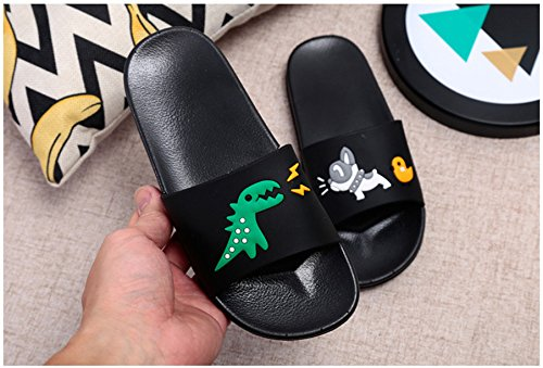 JACKSHIBO Boys Girls Slide Sandals, Outdoor Indoor Sandals Beach Water Flip Flop by JACKSHIBO (Image #2)