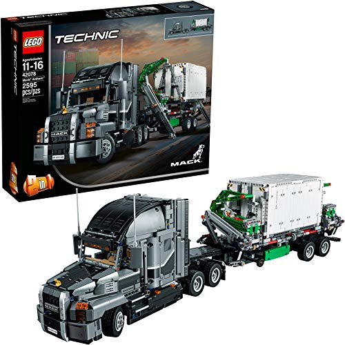 LEGO Technic Mack Anthem 42078 Semi Truck Building Kit and